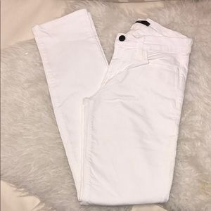 Joes skinny white jeans